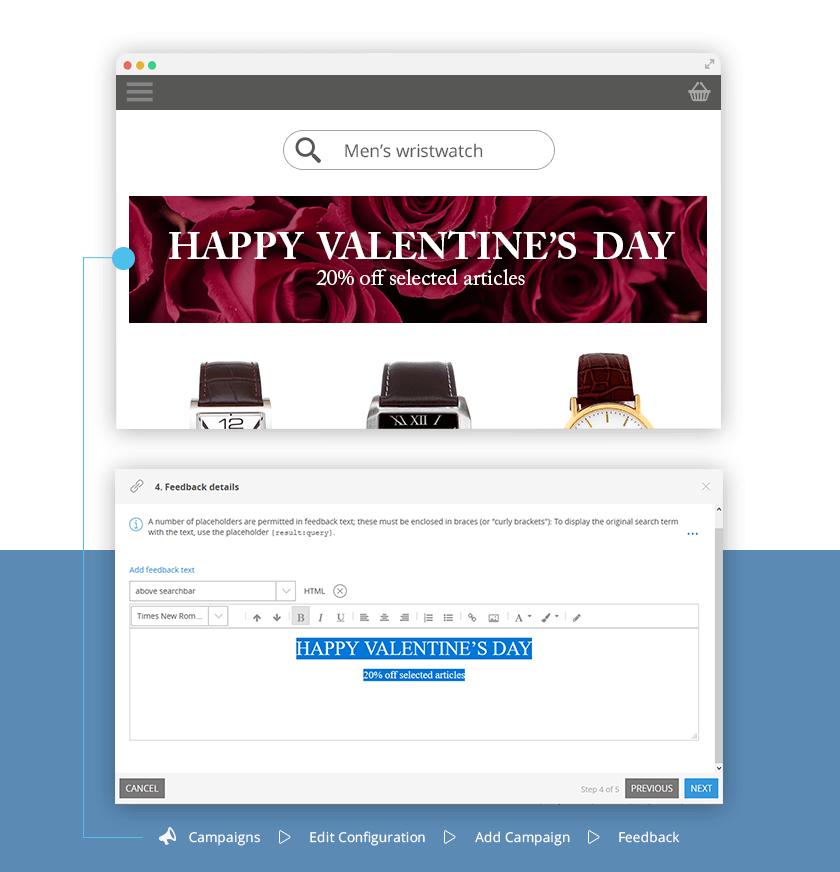 Valentinstag: vorübergehende Valentinskategorie