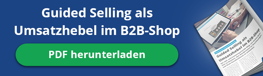 Paper: Guided Selling als Umsatzhebel im B2B-Shop