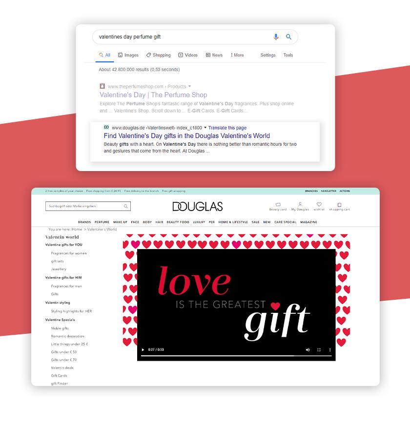 Content für Valentinstag-Marketing