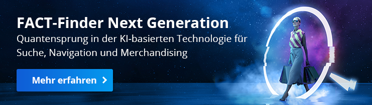 AI in eCommerce - FACT-Finder Next Generation for B2B web shops