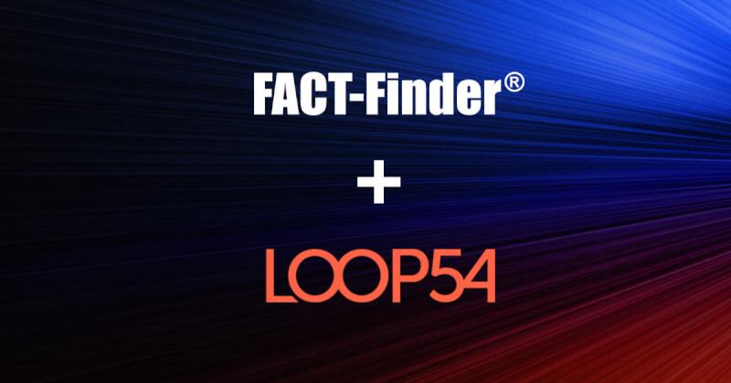 Logos von FACT-Finder und LOOP54